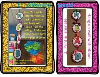 Daily Focus Headers and Banners for Kindergarten or Pre-K