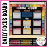 Learning Targets bulletin board