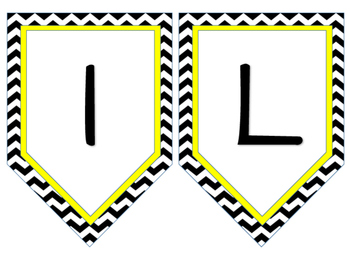 Daily Focus Wall - Yellow