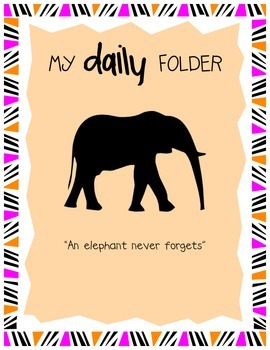 Daily Folder Cover