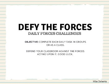 Daily Forces Challenges