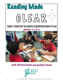 Reading Comprehension Lessons: 4 Daily Steps, Differentiation, Gradual Release