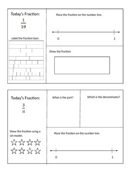 Daily Fraction Practice
