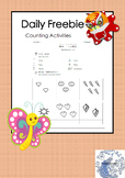 Daily Freebie - Counting Activity (Simplified Chinese / English)