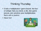 Daily Fun Multiplication Facts Practice Powerpoint