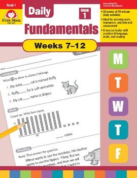 Daily Fundamentals Cross-Curricular Bundle, Grade 1, Weeks 7–12