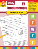 Daily Fundamentals Cross-Curricular Bundle, Grade 4, Weeks 1-6