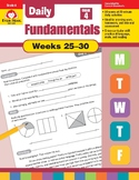 Daily Fundamentals Cross-Curricular Bundle, Grade 4, Weeks 25–30