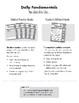 Daily Fundamentals, Grade 5, Teacher's Edition, E-book
