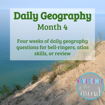 Daily Geography Month 4