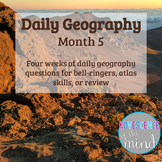Daily Geography Month 5