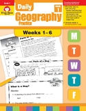 Daily Geography Practice, Grade 1, Weeks 1–6