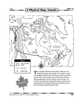 Daily Geography Practice, Grade 5, Weeks 13–18