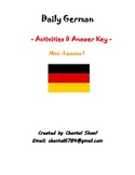 Daily German - Activities