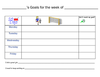 Daily Goal Setting