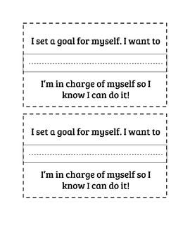 Daily Goals for Behaviour Management