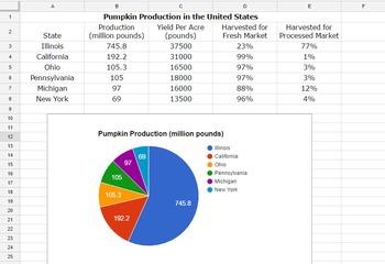 Daily Google Drive: Week 7 Pumpkin Production