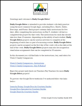 Daily Google Drive: Week 8 Halloween Candy Comparison