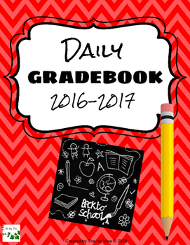 Daily Gradebook (2016-2017) - Red
