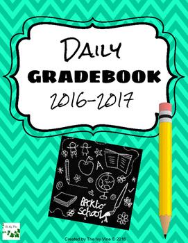 Daily Gradebook (2016-2017) - Turquoise