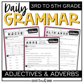 Daily Grammar - Adjectives & Adverbs
