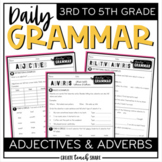 Daily Grammar - Adjectives & Adverbs