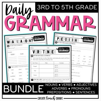 Daily Grammar - BUNDLE