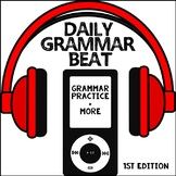 Daily Grammar Beat: Grammar Practice, Informational Text,