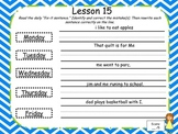 Daily Grammar Fix-it Sentences Storytown