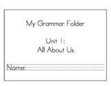 Daily Grammar Packet Unit 1 (California Treasures)