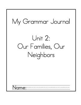 Daily Grammar Packet Unit 2 (California Treasures)