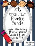 Daily Grammar Practice Bundle Weeks 1-16