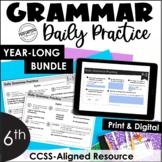 Daily Grammar Practice For 6th Grade | Grammar Worksheets