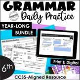 Daily Grammar Practice For 6th Grade | Grammar Worksheets