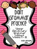 Daily Grammar Practice Weeks 9 - 16