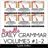 Grammar Bundle, Ten-Minute Daily Grammar Practice, FULL YEAR