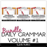 Ten-Minute Grammar, Daily ACT Prep, Set #1 BUNDLE, 18 weeks
