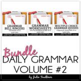 Grammar Set #2 Bundle, Ten-Minute Daily ACT Prep, 18 weeks