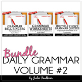 Grammar Set #2 Bundle, Ten-Minute Daily ACT Prep, 18 weeks