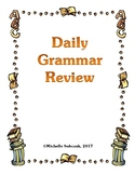 Daily Grammar Review Packet - Elementary Students