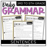 Daily Grammar - Sentences