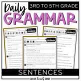 Daily Grammar - Sentences