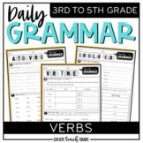Daily Grammar - Verbs