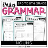 Daily Grammar - Nouns