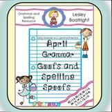Grammar Practice for April