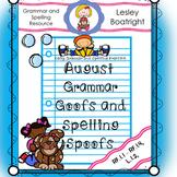 August Daily Grammar Practice