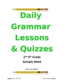 Sample: Daily Grammar & Writing Lessons With Quizzes 2nd,