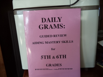 Daily Grams: Guided Review Aiding Mastery SkillsISBN# 0-936981-10-5