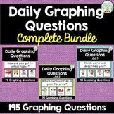 Daily Graphing Questions Bundle - 195 Questions