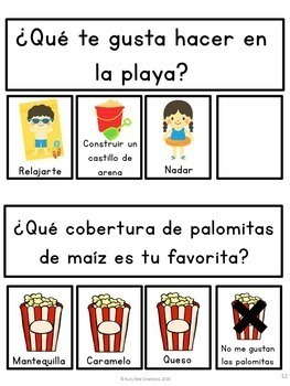 Daily Graphing Questions Bundle - Spanish Version